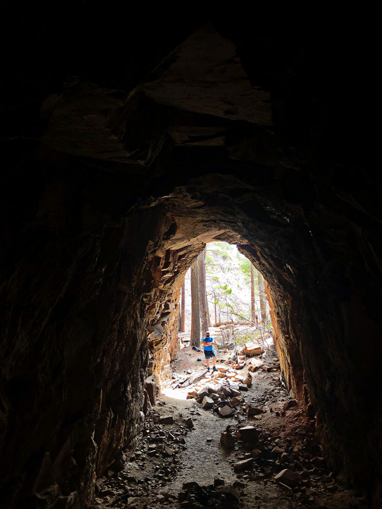 Unfinished Train Tunnel from the 1880s