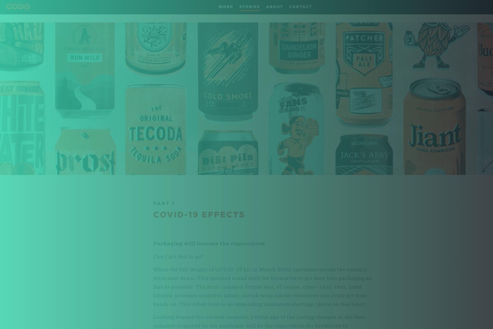 2021 Craft Beer Branding Trends