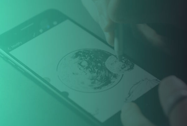 Inking or Drawing Circles in Procreate